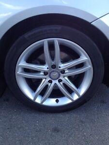 C class wheels , will fit B class mercedes Browns Plains Logan Area Preview