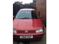 Golf with mot still drives ( spares or repairs )