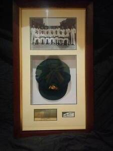 1948 Australian Cricket Team Framed Memorabilia Oakleigh South Monash Area Preview