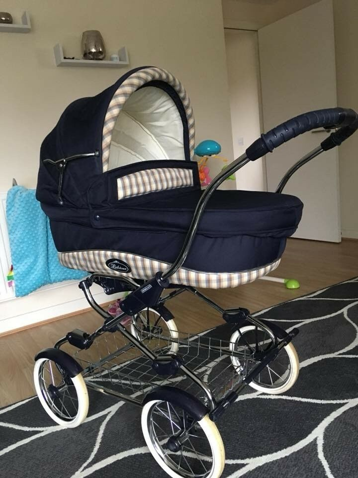 3in1 Bebecar Travel System Pram Pushchair Car Seat In