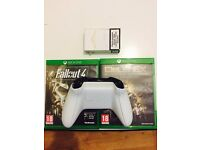 Xbox One Wireless Controller White +two games