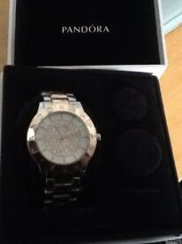 Pandora womens watch new boxed