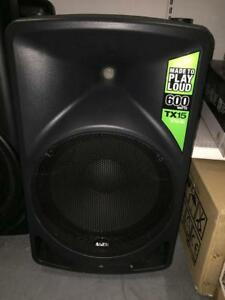 USAGER SPEAKERS ACTIFS 550W-1600W / USED ACTIVE SPEAKERS 550W - 1600W