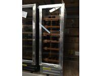 30cm Built In 18 Bottle Capacity Wine Cooler- Stainless Steel