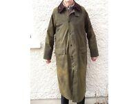 Barbour 'Classic Burghley' Raincoat/Riding mac