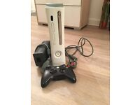 Xbox 360 Console 60 GB with Controller and Cables BUNDLE
