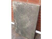 5 paving slabs - reclaimed street paving slabs rectangle 60cm x 92cm x 5 cm