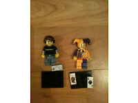 2 LEGO Minifigures Series 12 - Video Game Guy & Wizard