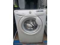 7kg Silver 'Hoover' Digital Washing Machine - Good condition / Free local delivery and fitting