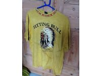 Native American Indian T-shirt (Indian) New