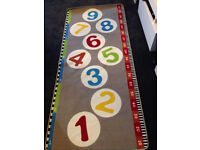 childrens ikea number rug