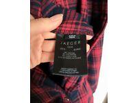 Jager Tartan Shirt Dress in size 14