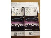 Billy Joel tickets x 2 Wembley 10th September