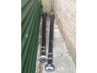 Genuine Victorian cast iron lamp posts x2. Collection only Colchester