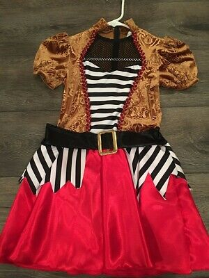 High Quality Kids Halloween Costumes (Pirate Costume for Girls Kids Halloween Fancy Dress GREAT CONDITION HIGH)