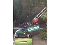 Qualcast electric rotary 1200w lawn mower. Used once