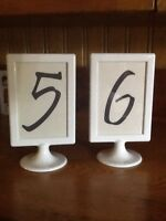 14 Table Numbers - $28
