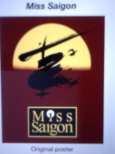 'MISS SAIGON' - The Musical : Souvenir Programme 1993