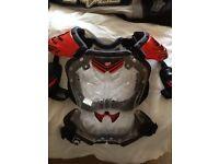 Fox motocross body armour.