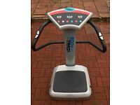 Vibration fitness plate. Salon standard of machine