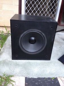 Subwoofer & amplifier. ENERGY. Adelaide CBD Adelaide City Preview