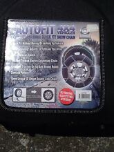 Snow chains fit prado 16mm Battery Point Hobart City Preview