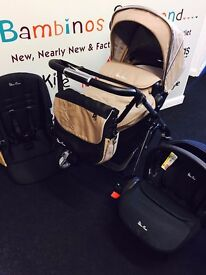Silver Cross Pioneer complete travel system (Sand)