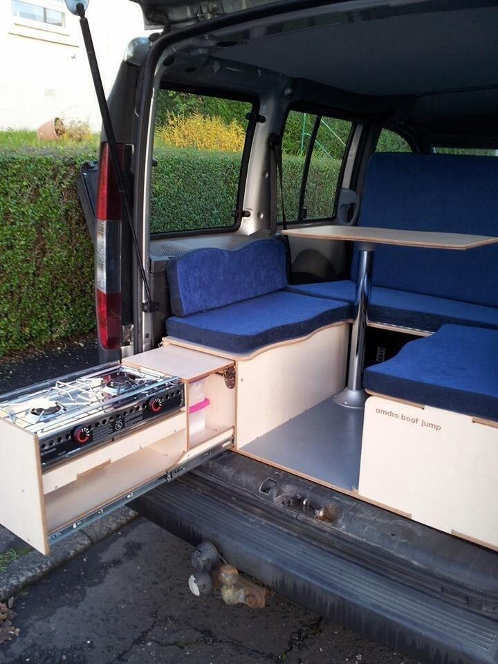 Amdro Boot Jump For Sale Turn Your Mpv Into A Campervan In Johnstone Renfrewshire Gumtree