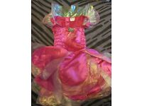 barbie fairytopia dress only age 4/6 years approx great for party or world book day