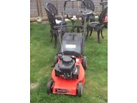 Champion self propelled petrol lawnmower cut is 46cm works great can be seen working cb5 £95