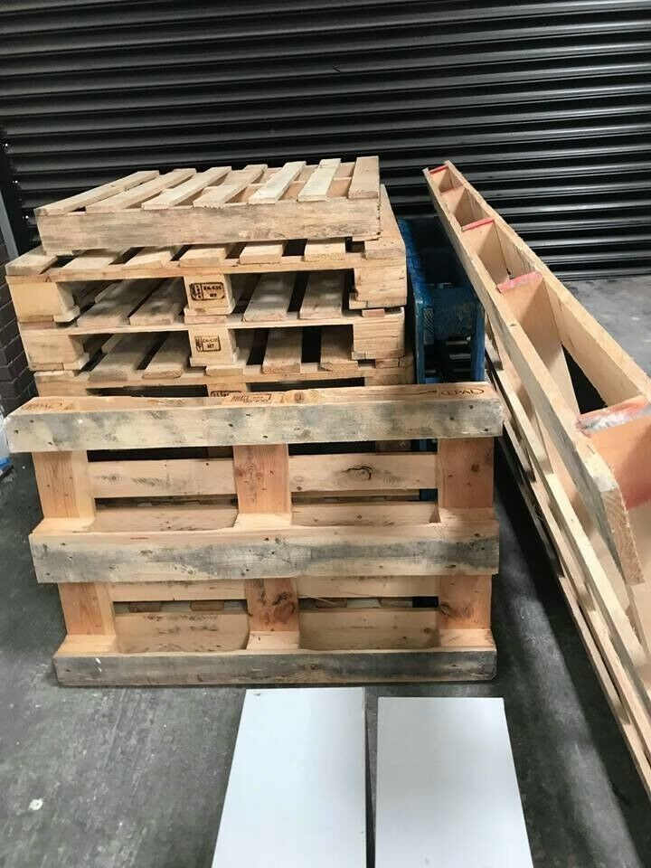 12 wooden pallets for sale, various sizes | in Hull, East ...