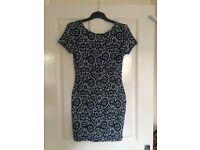 brand new river island blue dress size 12