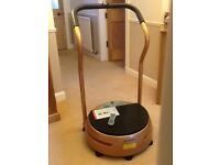 bslimmer VIbration Plate with arms.