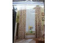 Curtains – 46W x 72L Brand New