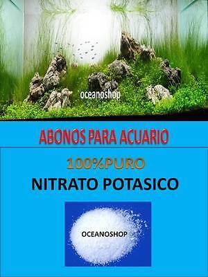NITRATO POTASICO 150GR ABONO PARA ACUARIO PLANTADO PLANTAS PECERA ABONADO