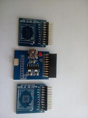 EMMC adapter 3 in 1 for Easy Z3x JTAG PRO box riff box BGA153 169 & BGA162  186