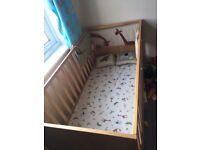 Mother care Cot and mattress