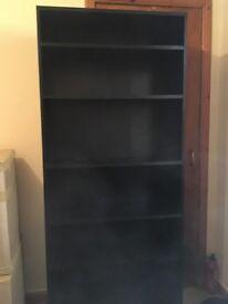 Argos Home Maine 5 Shelf Tall & Wide Deep Bookcase - Black