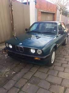 1990 BMW 3i8 Sedan Moonee Ponds Moonee Valley Preview