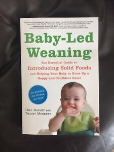 Book - Baby-Led Weaning - new condition