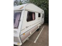 LoOK!!! Abbey Piper 15-5EX 5 berth caravan No DAMP with MOTOR MOVER