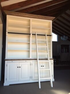 STUNNING FRENCH PROVINCIAL HAMPTONS STYLE LIBRARY UNIT BUFFET & HUTCH! Casuarina Kwinana Area Preview