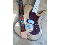 Custom made guitar - ash body