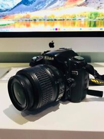 Nikon D80 Digital camera with bag, lens, SD card - £10 per day
