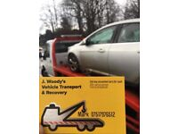 J.woodys recovery and car transportation