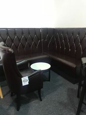 Restaurant seating booth bench sofa chair caffee furniture chesterfield corner for sale  Maidstone