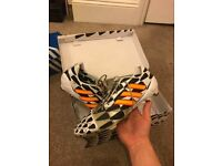 ADIDAS nitrocharge FG football boots, size 9