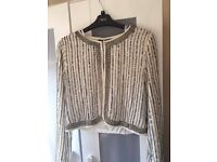 Sequinned Size 10 Jacket