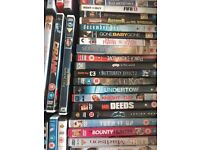 155 DVDs - All Great Condition - Selling Due To Moving House