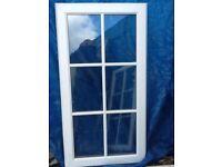 Double glazed pvc window units